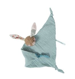 Moulin Roty Muslin Cuddly Baby Comforter Rabbit