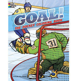 Dover Goal! The Hockey Colouring Book