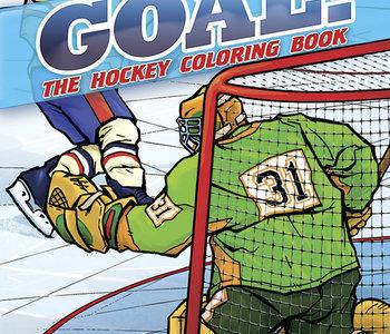 Goal! The Hockey Colouring Book