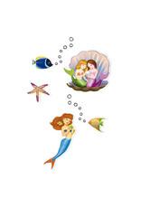 Djeco Mermaids Stickers