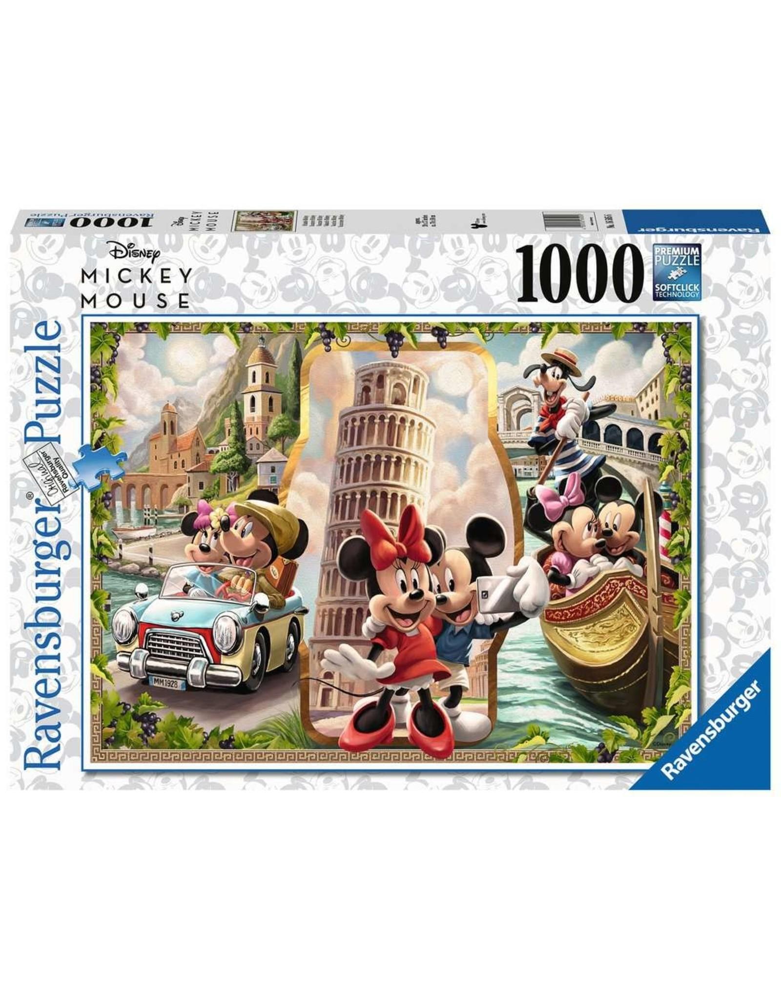 Ravensburger Vacation Mickey & Minnie 1000pc Puzzle