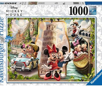 Vacation Mickey & Minnie 1000pc Puzzle