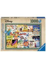 Ravensburger Disney Vintage Movie Posters 1000pc Puzzle