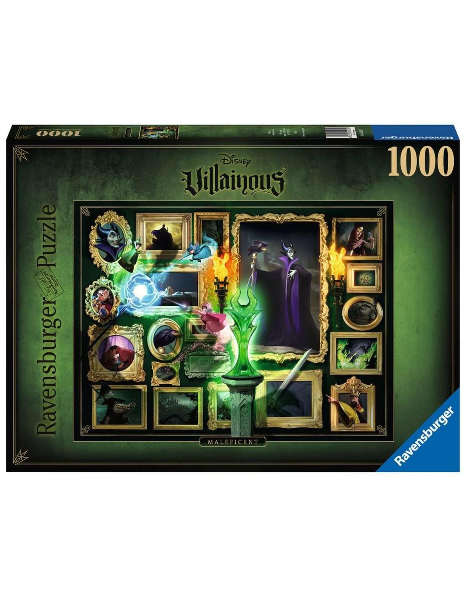 Ravensburger Villainous Maleficent 1000pc Puzzle