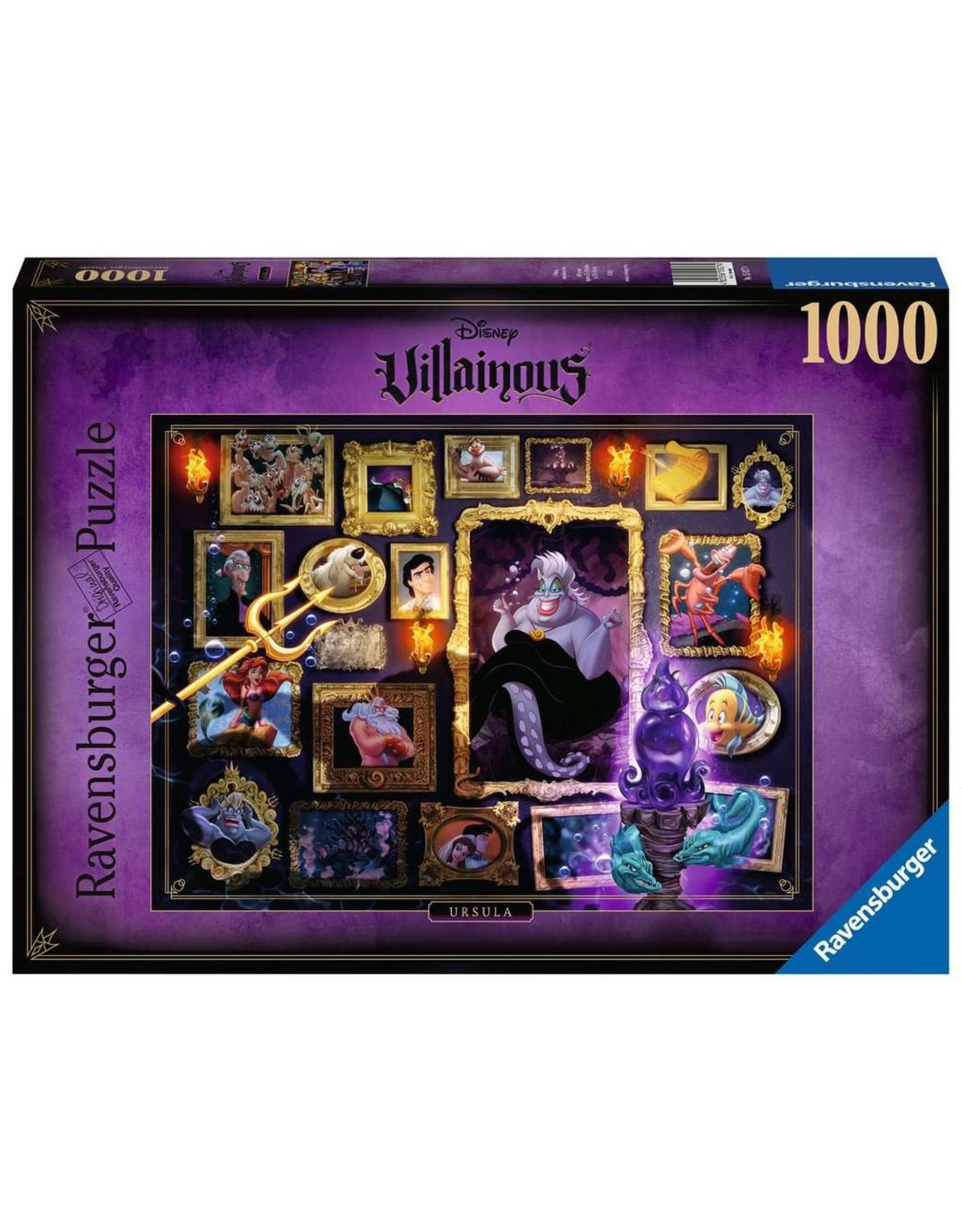 Ravensburger Villainous Ursula 1000pc Puzzle