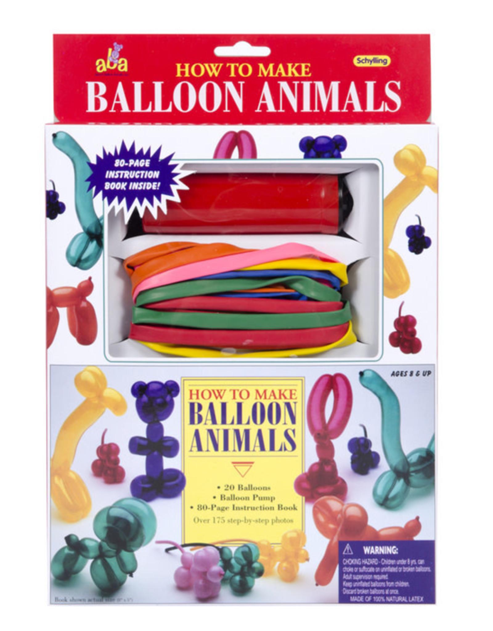 Schylling Balloon ANimal Kit