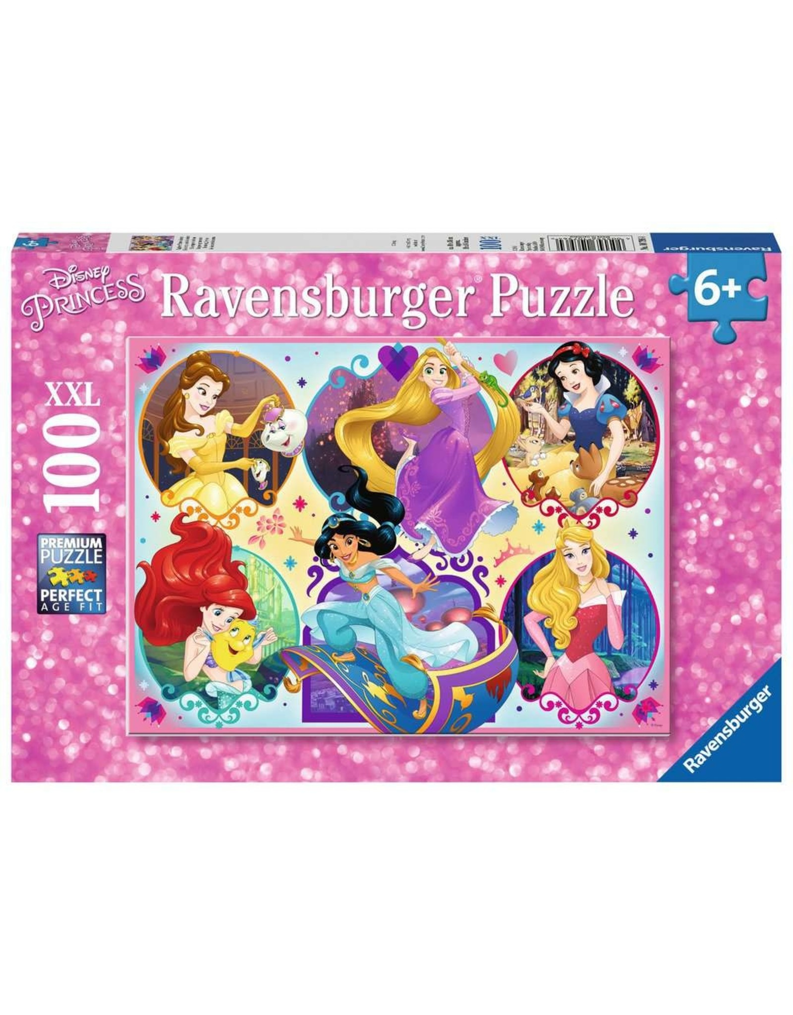 Ravensburger Be Strong Be You Disney Princesses 100pc Puzzle