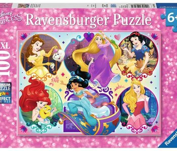 Be Strong Be You Disney Princesses 100pc Puzzle