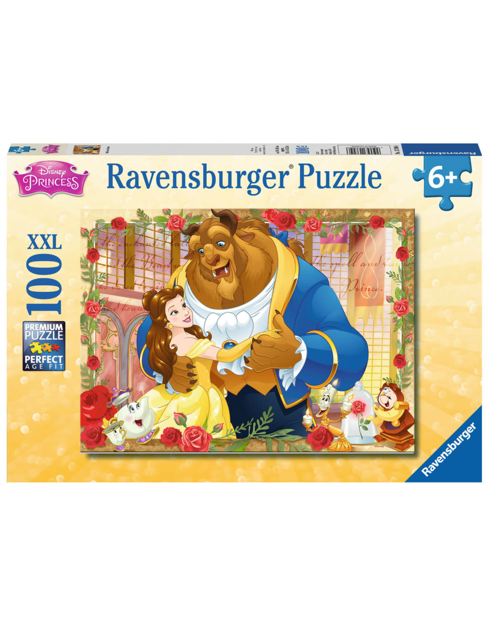 Ravensburger Belle & Beast 100pc Puzzle
