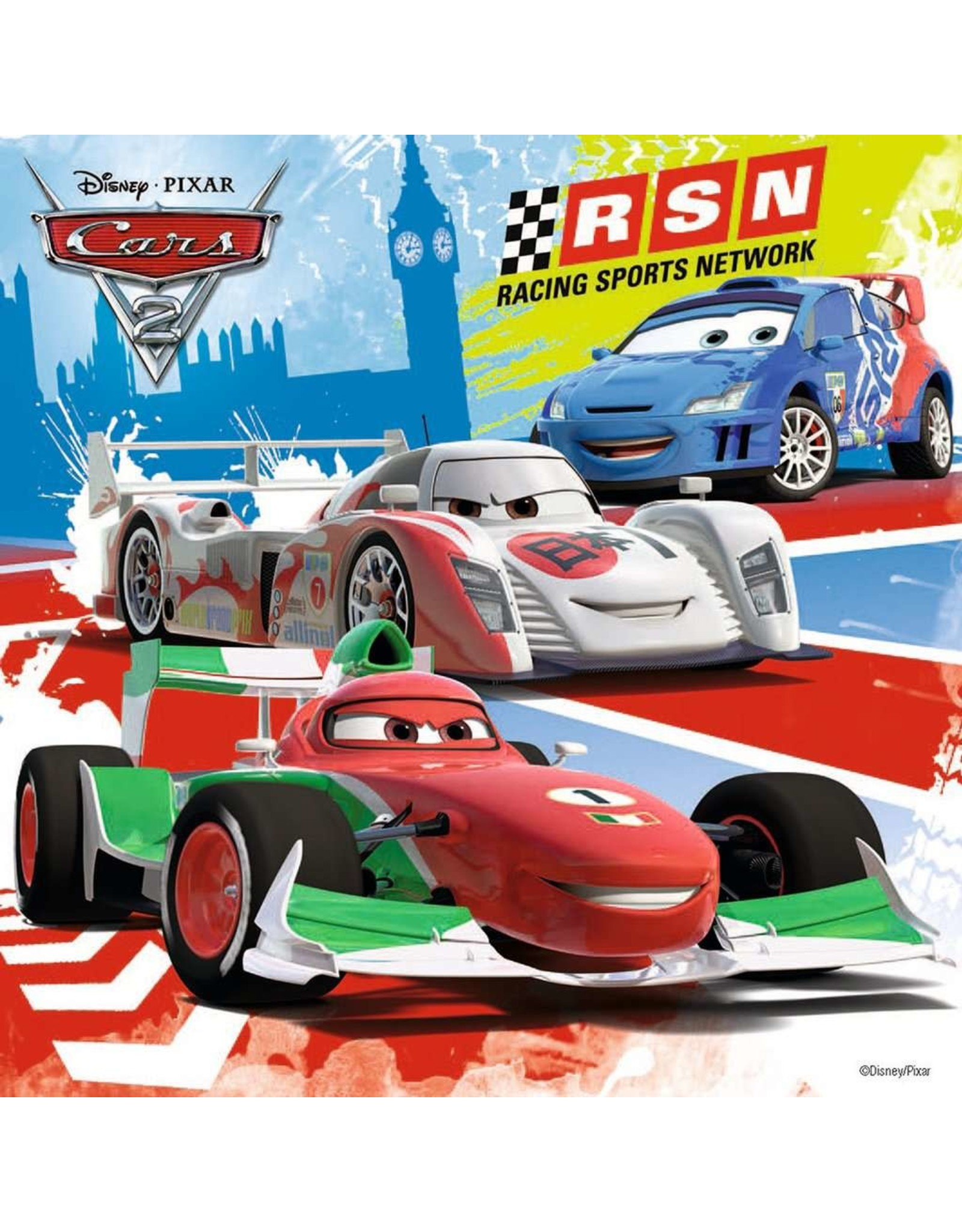 Ravensburger Disney Cars Worldwide Racing Fun 3x49pc Puzzles