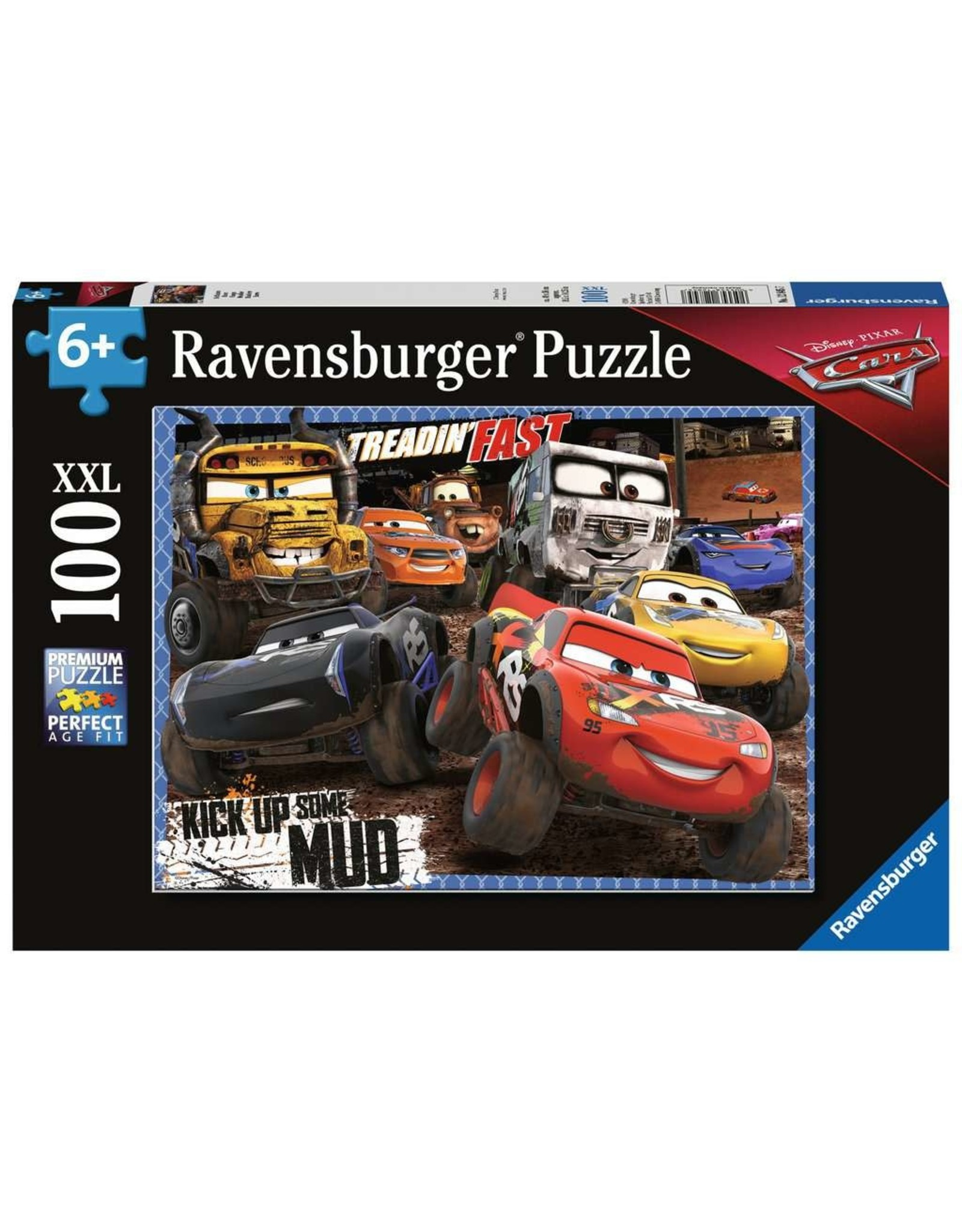 Ravensburger Cars Mudders 100pc Puzzle