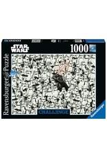 Ravensburger Challenge Puzzle Star Wars 1000pc Puzzle