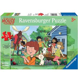 Ravensburger If You Give a Mouse a Cookie Mouse's Backyard 35pc Puzzle