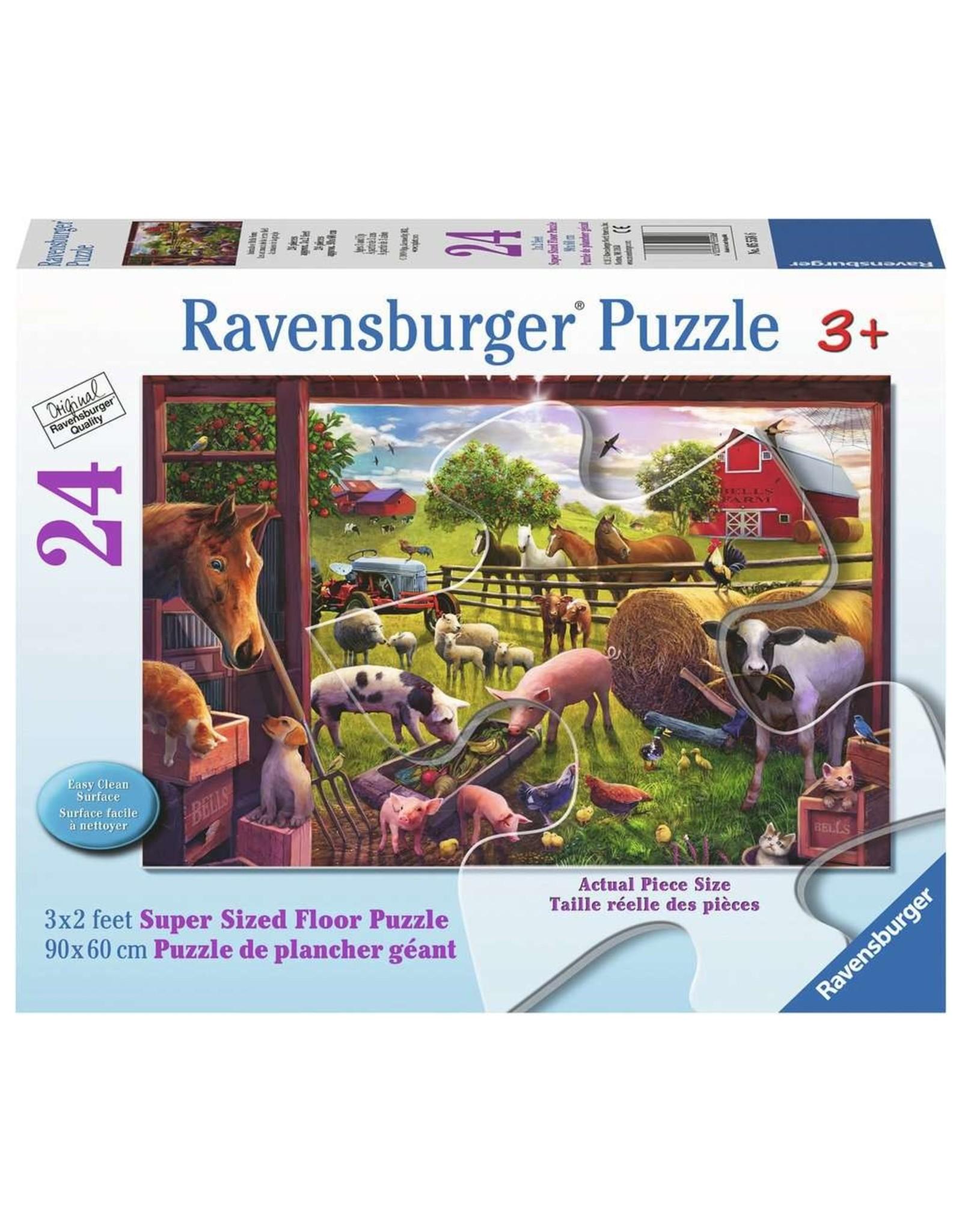 Ravensburger Animals of Bells Farm 24pc Floor Puzzle