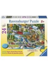 Ravensburger Vacation Hustle 24pc Floor Puzzle