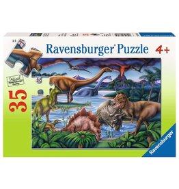 Ravensburger Dinosaur Playground 35pc Puzzle
