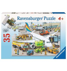 Ravensburger Busy Airport 35pc Puzzle