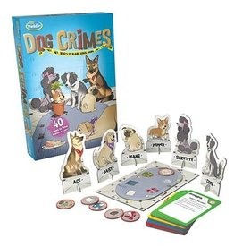 Think Fun Dog Crimes Logic Game