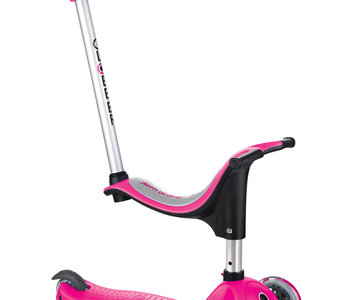 Globber GO-UP 4-in-1 Scooter - Pink
