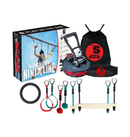 B4 Adventure Slackers NinjaLine 36' Intro Kit with 7 Hanging Obstacles