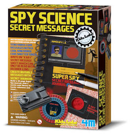 4M Spy Science: Secret Messages