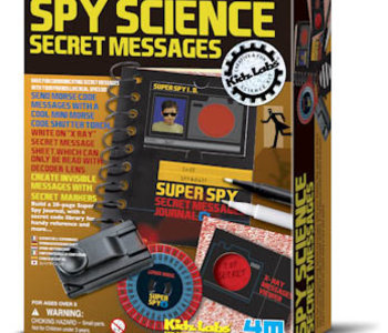 Spy Science: Secret Messages