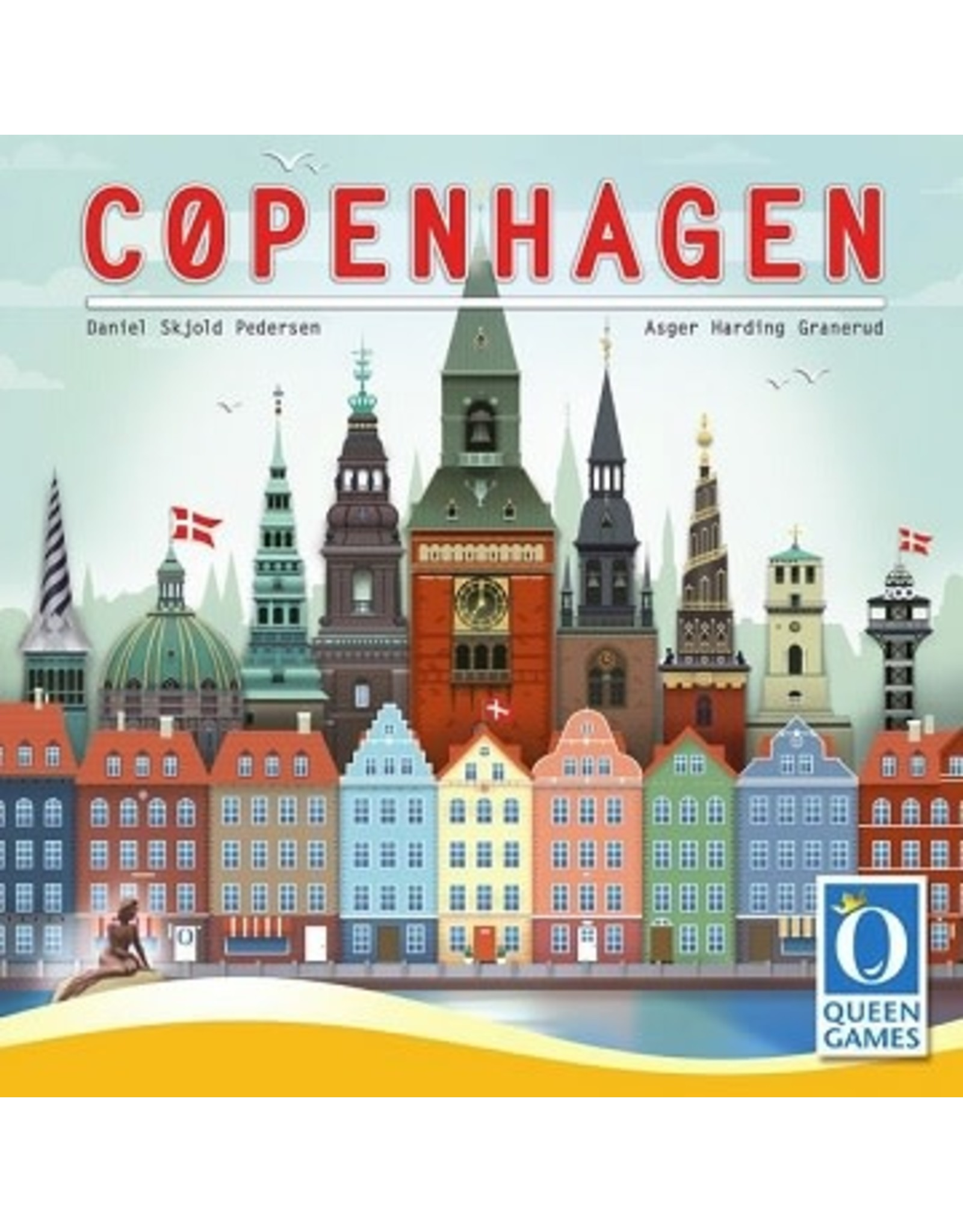 Queen Games Copenhagen Game