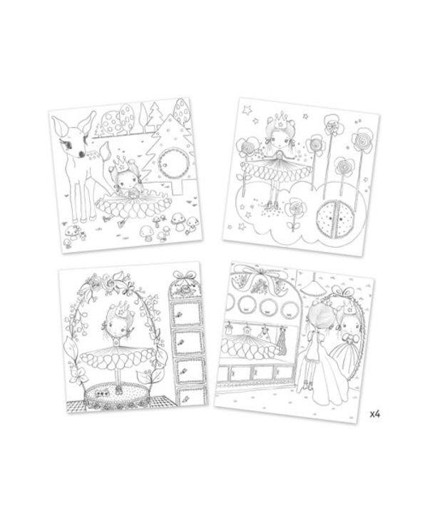 Colour & Peek: Pupi's Little Doors