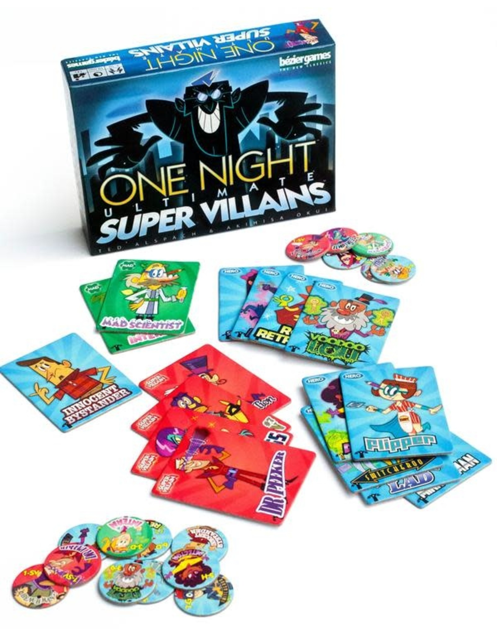 Bezier Games One Night Ultimate Super Villains