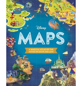 Disney Press Disney Maps Book