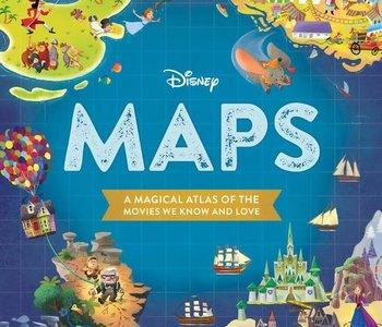 Disney Maps Book