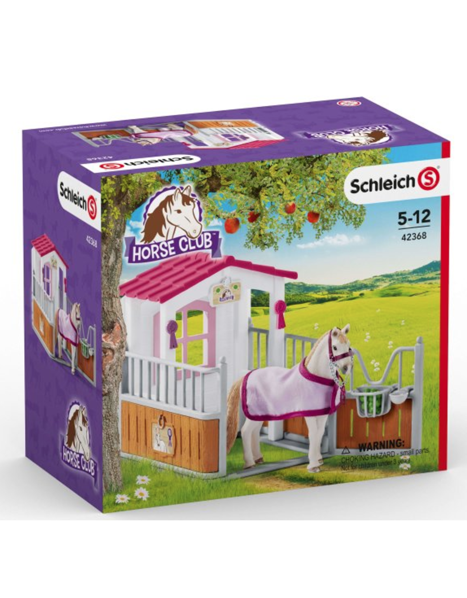 Schleich® Horse Club Horse Stall w Lusitano Horses