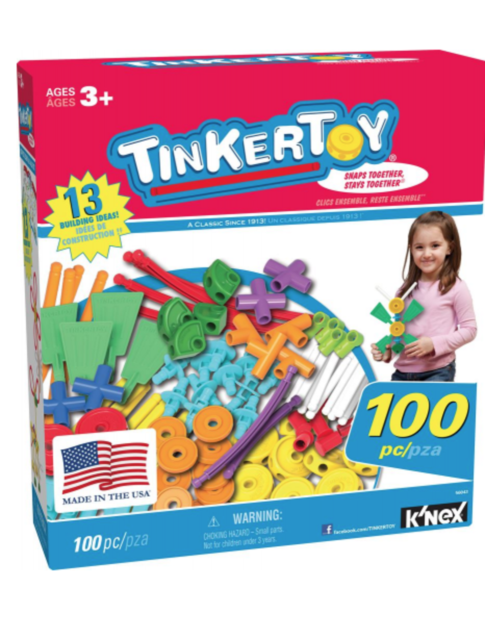 K'Nex TinkerToy 100pc Set