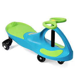 Plasmart Plasma Car - Aqua Blue/Lime Green seat