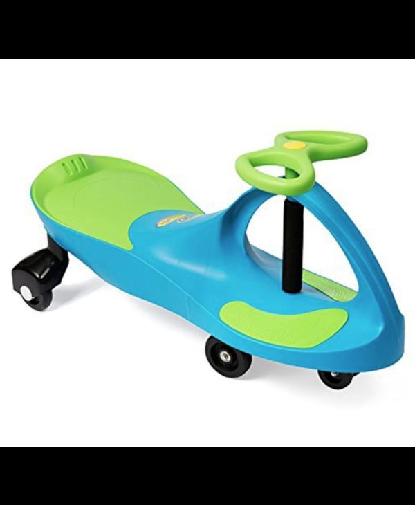 Plasma Car - Aqua Blue/Lime Green seat