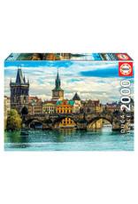 Educa View of Prague 2000pc Puzzle