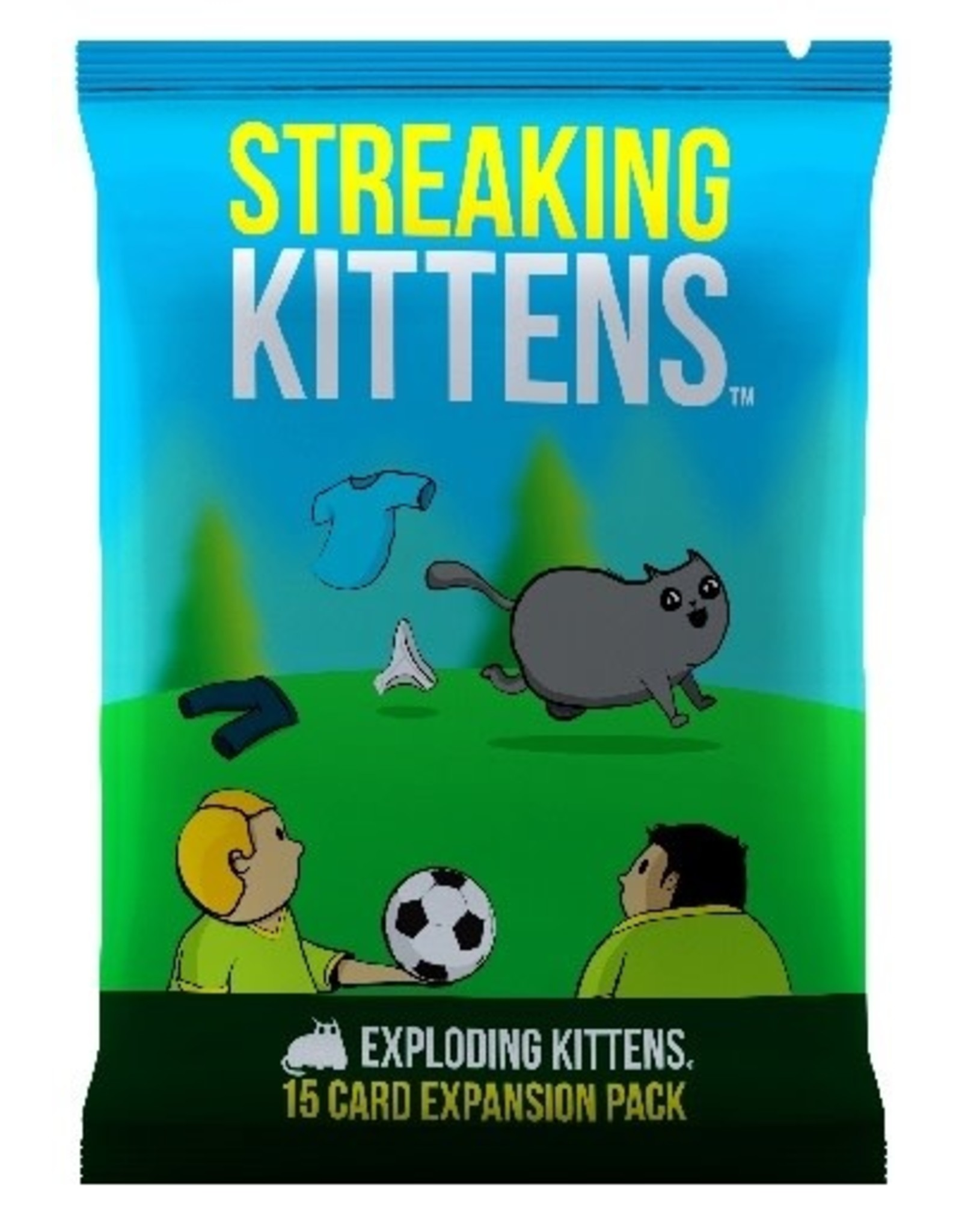 Exploding Kittens Exploding Kittens: Streaking Kittens Expansion Pack