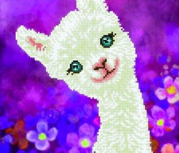 Diamond Dotz Luna Llama (intermediate)