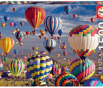Hot Air Balloons 1500pc Puzzle