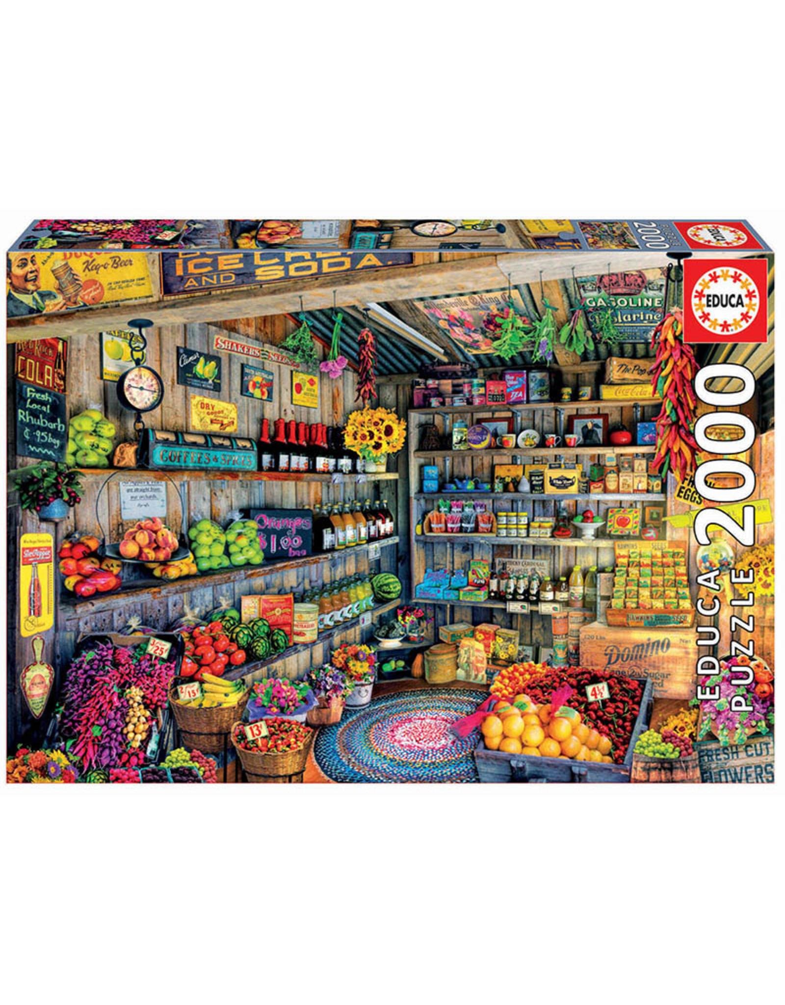 Educa The Farmers Market 2000pc Puzzle
