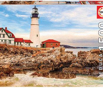 Rocky Lighthouse 1500pc Puzzle