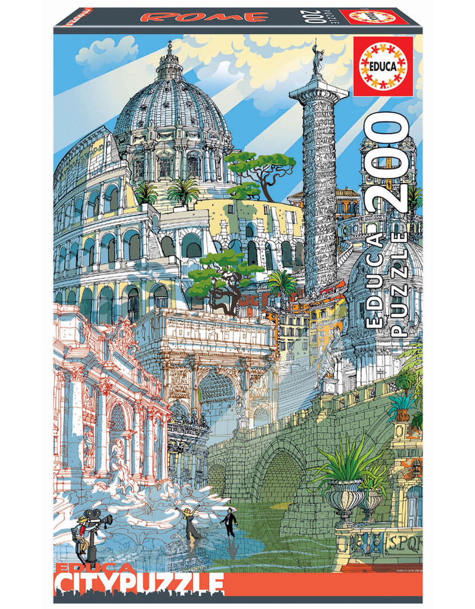 Educa City Puzzle Rome 200pc Puzzle