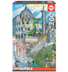 Educa City Puzzle Rome 200pc Puzzle