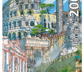 City Puzzle Rome 200pc Puzzle