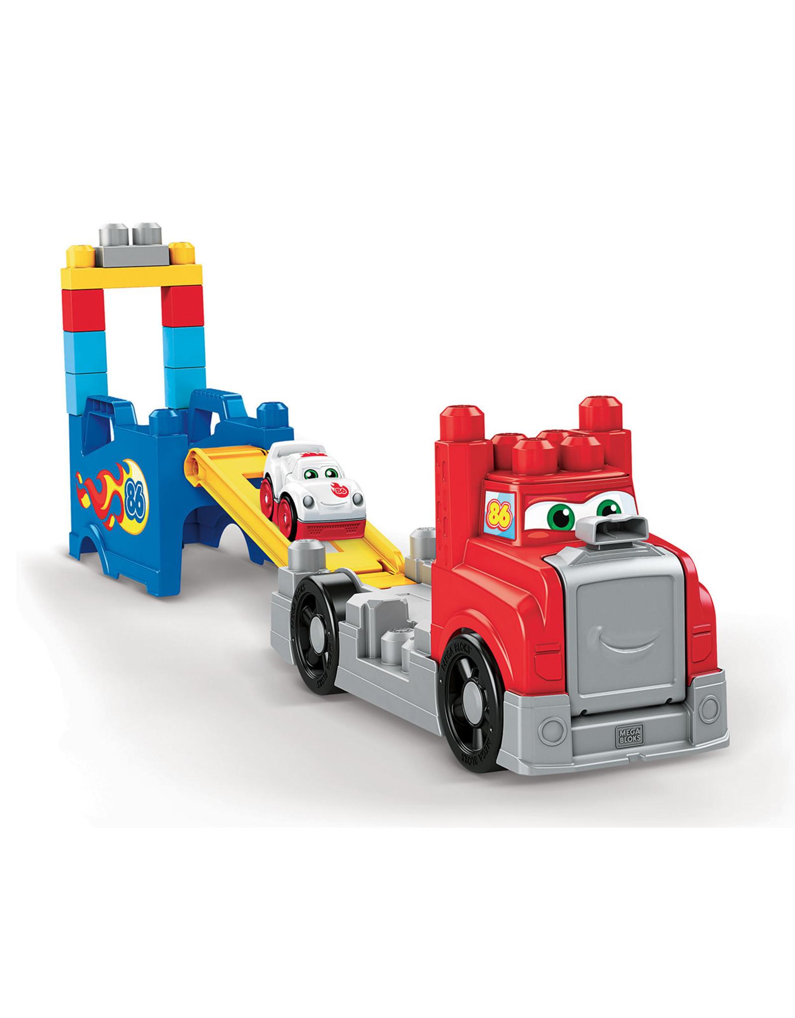 Mega Bloks MEGA BLOKS First Builders Build & Race Rig