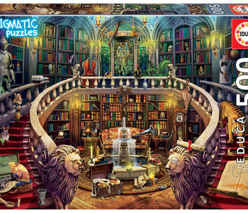 Old Library 500pc Enigmatic Puzzle