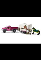 Schleich® Pick Up Truck with Horse Trailer