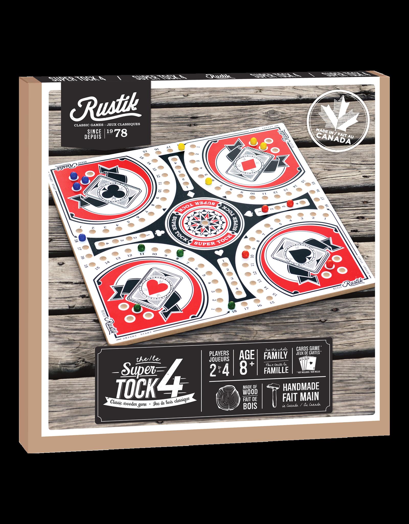 Rustik Super Tock Game 4 Player