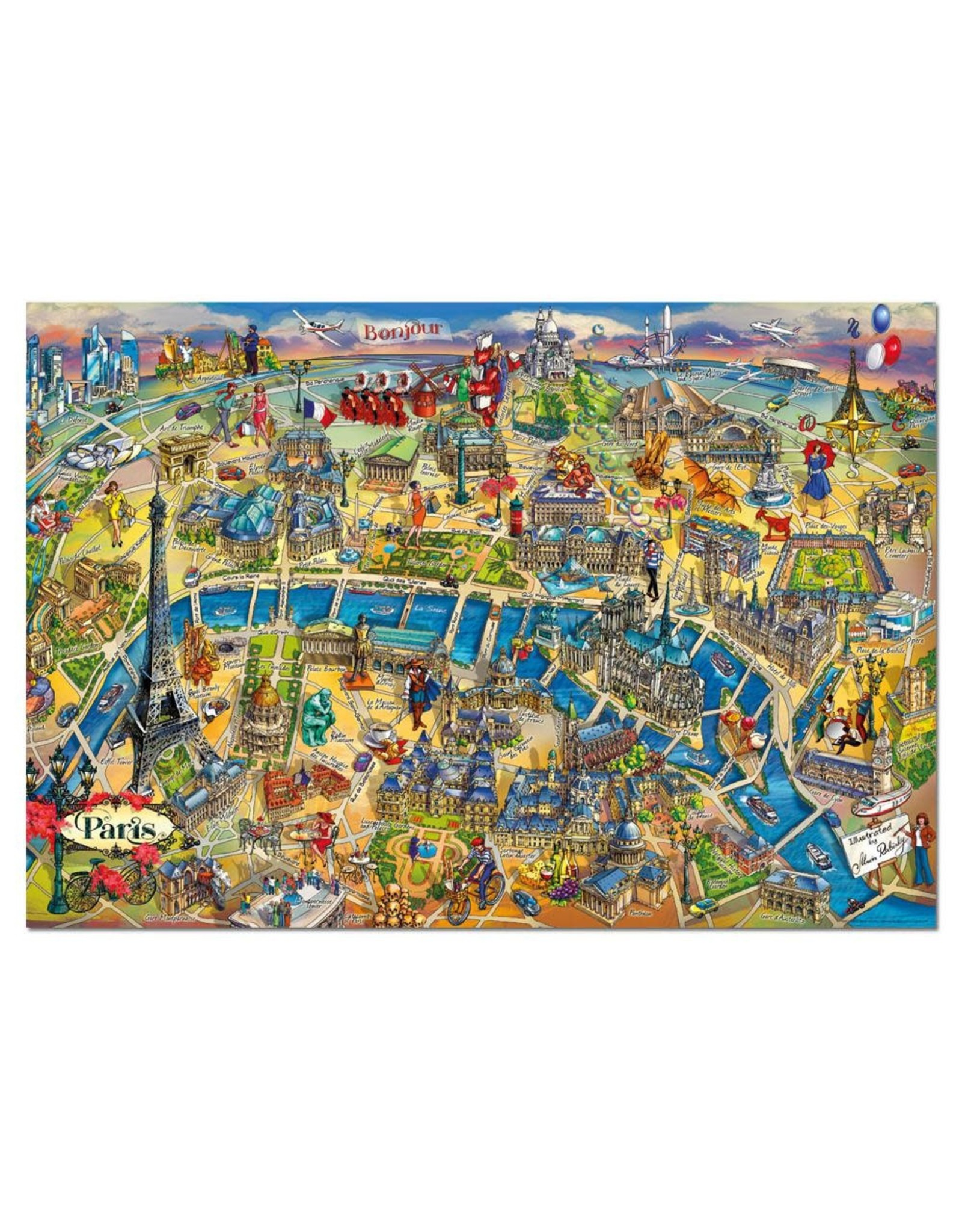 Educa Paris Map 500pc Puzzle