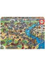 Educa London City Map 500pc Puzzle